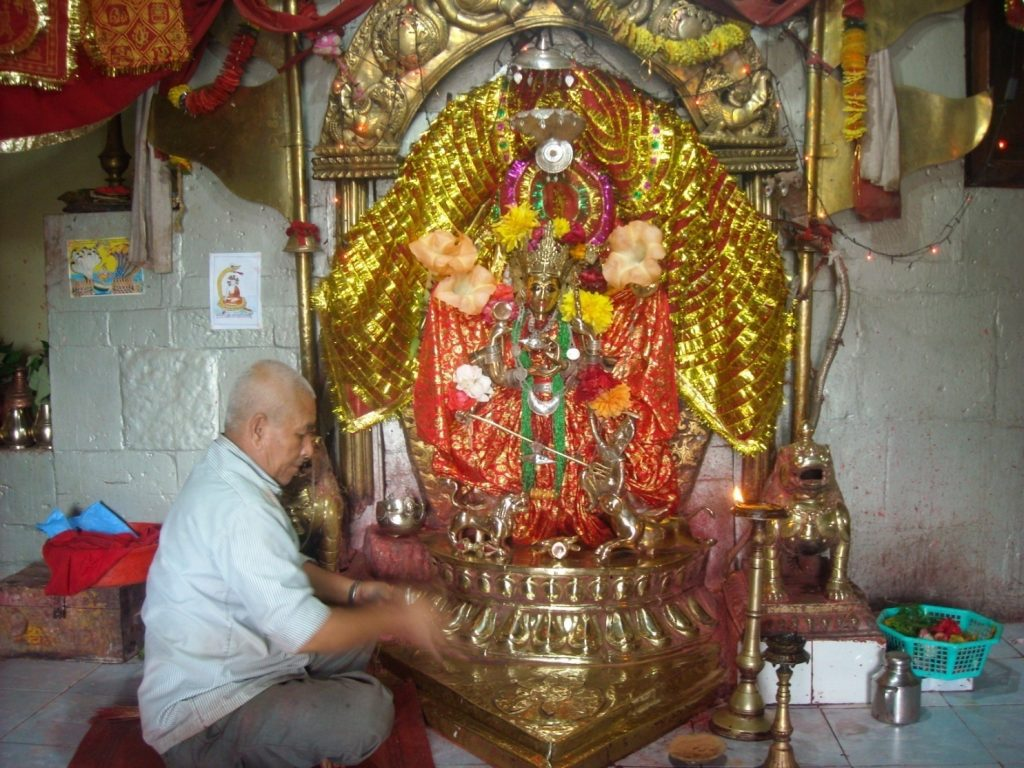 (Image of the Rana Ujeshrori Bhagwoti)