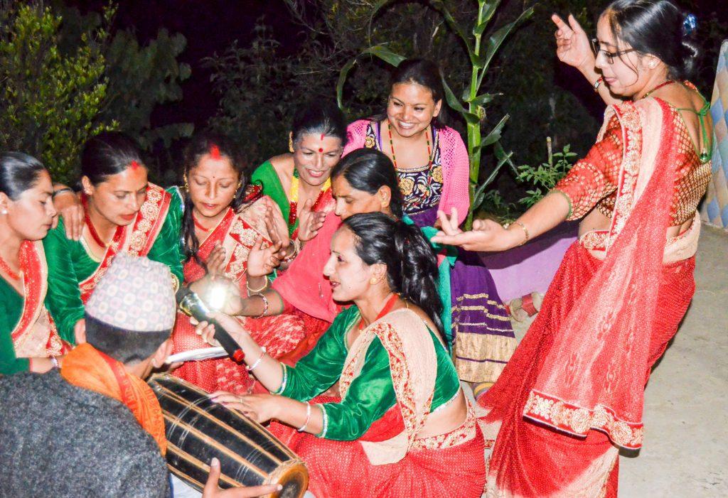 Celebration in Nagarkot