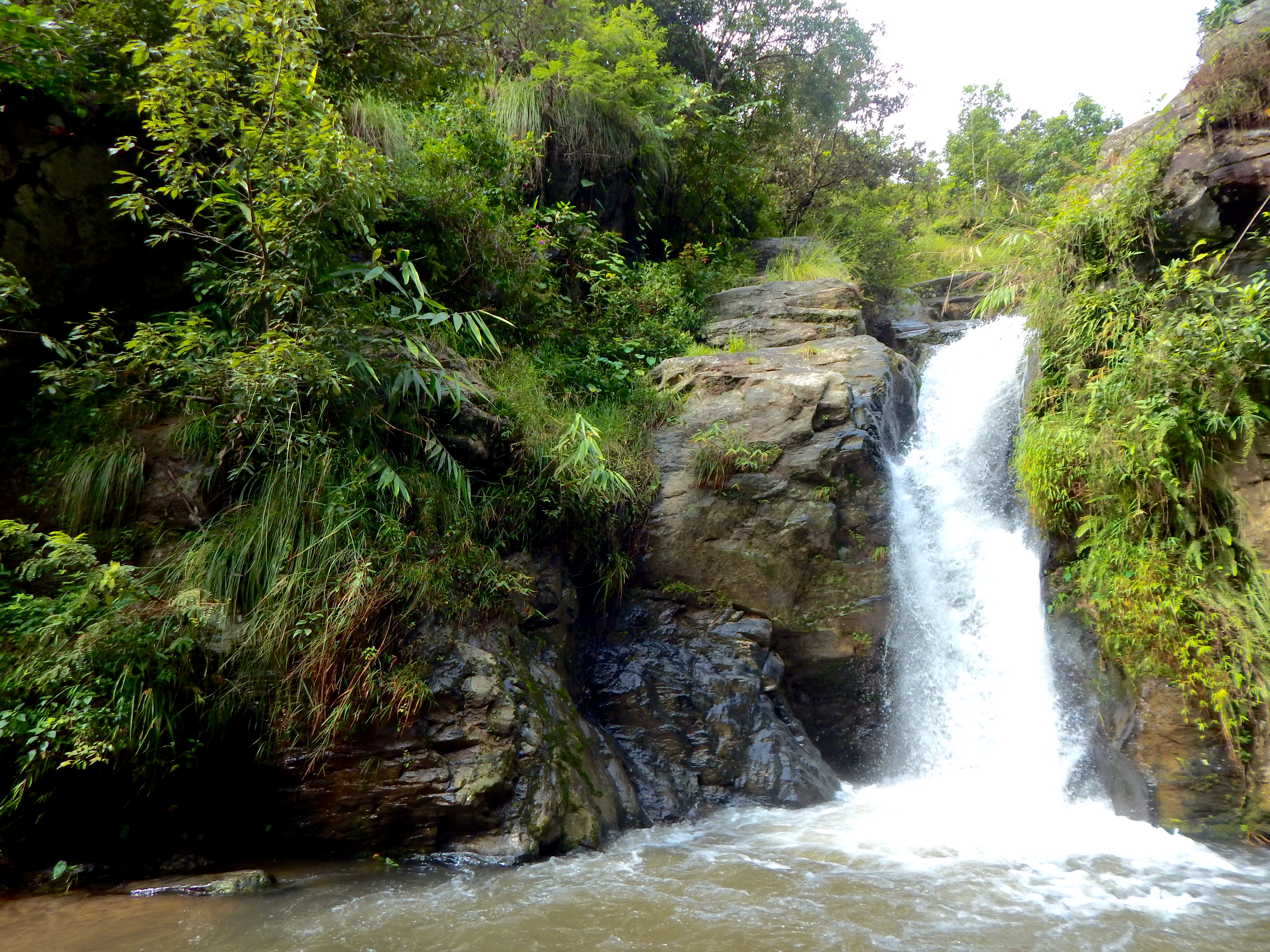 Chasing Waterfalls in Nagarkot