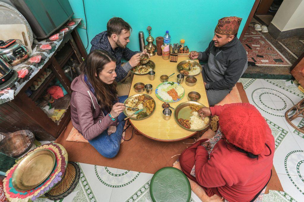palpa_community_homestay_cooking_food