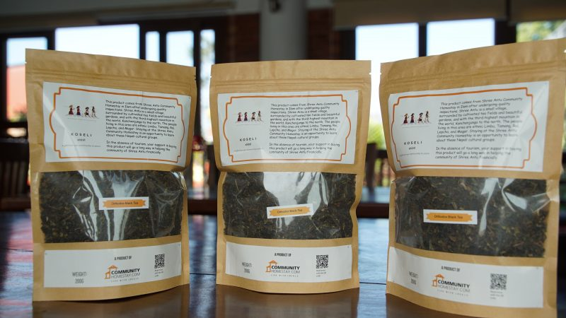 Orthodox Black Tea Leaves from Shree Antu Community Homestay